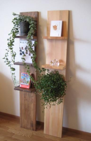 天然木の壁掛け棚 飾り棚 ハンドメイド_画像1