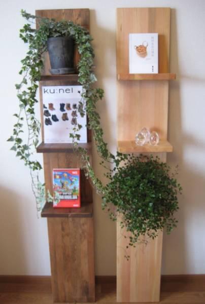天然木の壁掛け棚 飾り棚 ハンドメイド_画像3