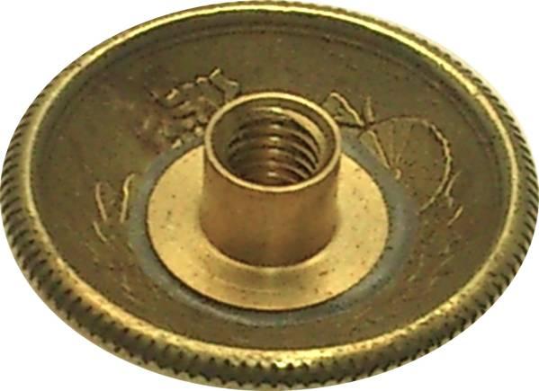 アウトレット コンチョ 古銭 小型50銭 黄銅貨 B ネジ式 1個_画像2