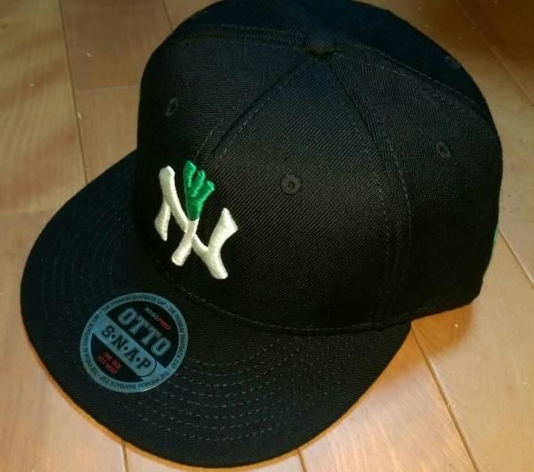 [新品未使用] 激レア 即完売!Negicco × BEAMS コラボ cap 黒 ネギキャップ Negi cap