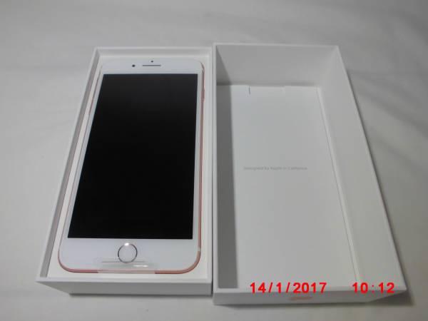新品 iphone7plus ROSEGOLD 256GB SIMフリー可