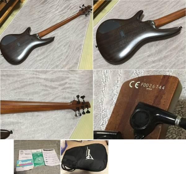 ★美品 IBANEZ BASS SR745 TFK 5弦 アクティブサーキット搭載 ベース 富士弦製 安心の MADE IN JAPAN KORNモデルに近いサウンド