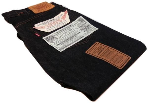 新品 リーバイス 201xx-0003 米国製 復刻 W33 201LEVI'S VINTAGE CLOTHING 糊付 1937年 デッド レプリカ 赤耳 インディゴ 検 ヴィンテージ