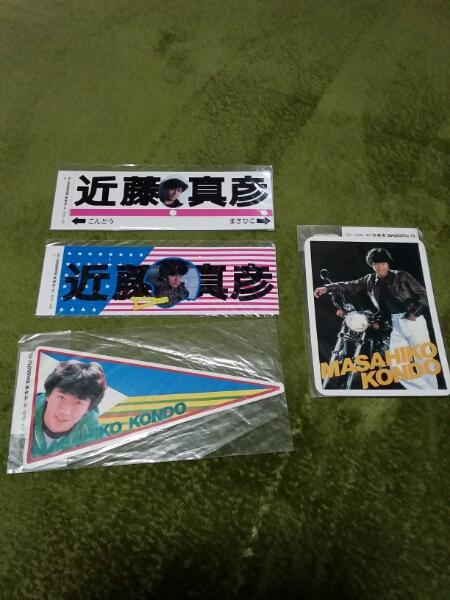 近藤真彦 ステッカー コンサートグッズの画像