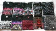 BABYMETAL Tシャツ(7枚) + パーカー(2枚) + レインポンチョ セット L サイズ【中古】