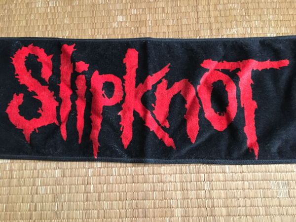 SlipKnot Knotfest Japan マフラータオル 美品 guns metallica