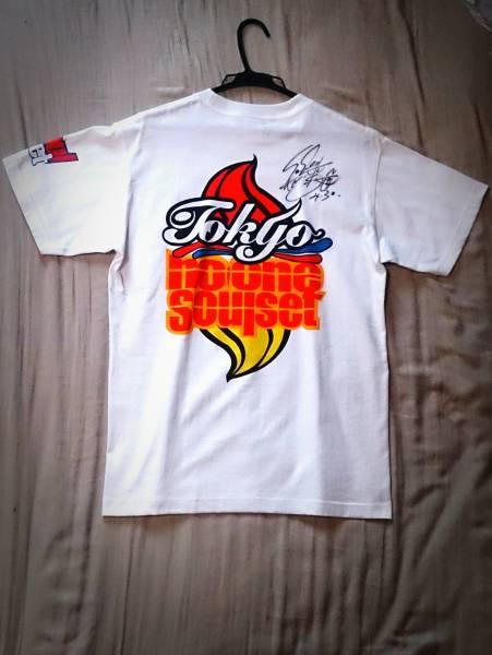 TOKYO No.1 SOUL SET 渡辺俊美(Vo&Gt)サイン入りTシャツM 未着用品