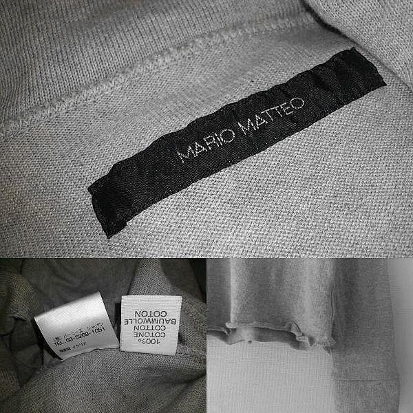 ■12■ 無造作で男らしい装いが完成する「マリオマッテオ」のジップアップカットソー_画像2