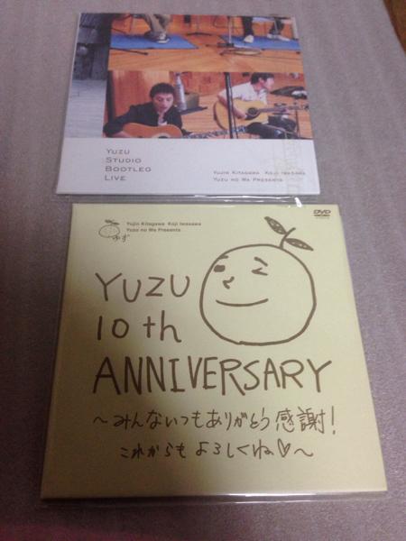 ゆず 10th ANNIVERSARY STUDIO BOOTLEG LIVE DVD 特典