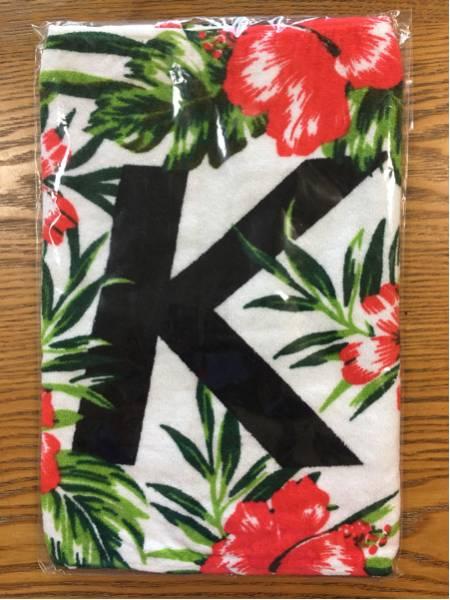 ケツメイシ ツアータオル ハイビスカス Hawaii レア 入手困難 人気タオル ライブグッズの画像