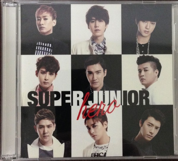 A☆【スーパージュニア】 SUPER JUNIOR HERO E.L.F-JAPAN限定盤 DVD CDセット トレカ付き ライブグッズの画像