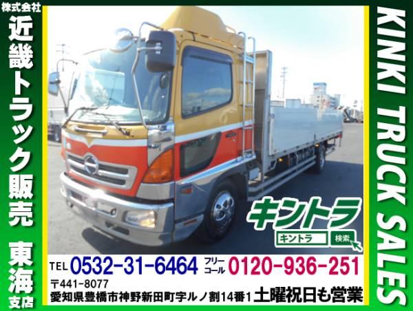 H16日野レンジャー アルミブロック 平ボディ 6200 #TK9457