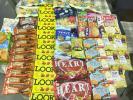 訳あり 大人買い ハートチョコレート、LOOKチョコレート等お菓子大量詰合せセット1円〜スタート 会社の置き菓子にどうぞ e