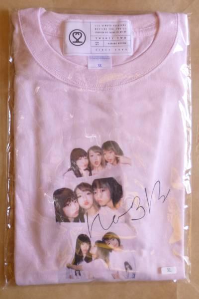 AKB48 小嶋陽菜 homies/ショップ限定 ピンク 絆Tシャツ XLサイズ ノースリーブス 高橋みなみ 峯岸みなみ こじまつり クリックポスト可