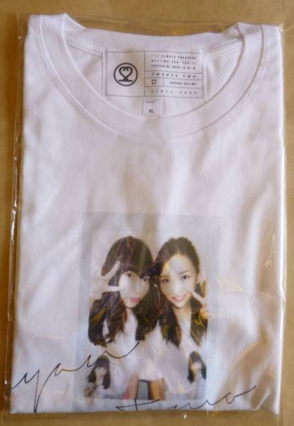 AKB48 小嶋陽菜 homies/ 絆Tシャツ white XLサイズ 板野友美 こじまつり クリックポスト発送可