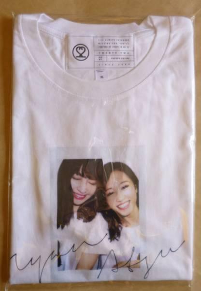 AKB48 小嶋陽菜 homies/ 絆Tシャツ white XLサイズ 前田敦子 こじまつり クリックポスト発送可