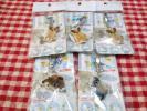 切手★光る トゥインキー キーホルダー 犬 チワワ シーズ トイプードル 5個セット twinky
