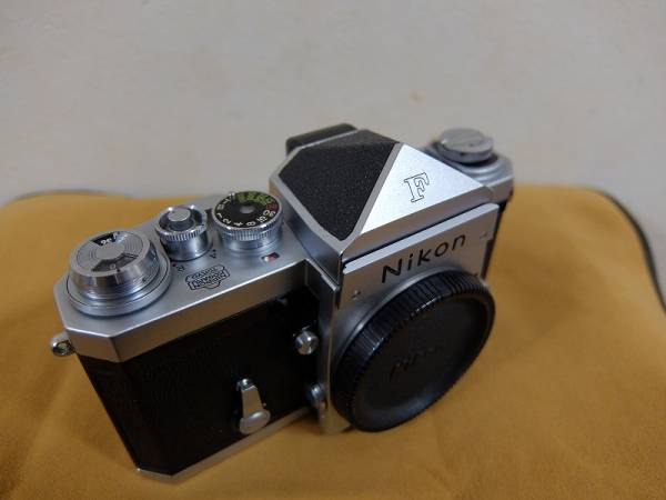 ニコンF Nikon F アイレベル 作動良好 プリズムOK_画像3