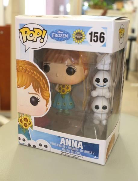希少 新品 アナと雪の女王 POP! 156 アナ ANNA FUNK funko ディズニーグッズの画像