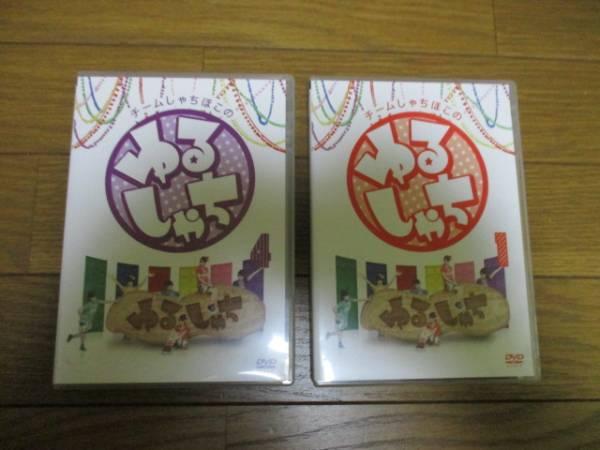 チームしゃちほこ DVD ゆるシャチ2本セット ライブグッズの画像