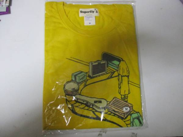 Superfly Tシャツ 空港 未開封 M ライブグッズの画像