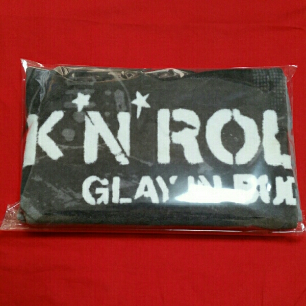 GLAY ROCK'N'ROLL SWINDLE IN 武道館 2006 バスタオル