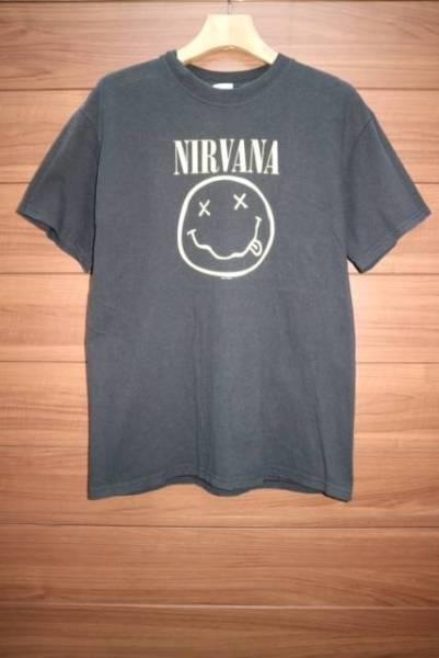 00S NIRVANA SMILEY FACE バンドTシャツ ビンテージ ロック グランジ SONIC YOUTH PIXIES