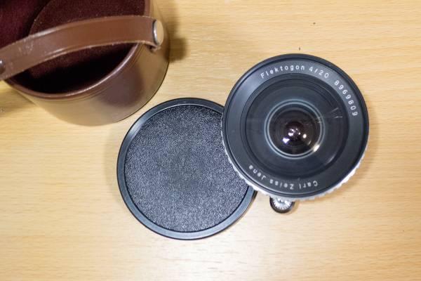 Carl Zeiss Jena Flektogon 20mm f4 Exakta Mount Zebra