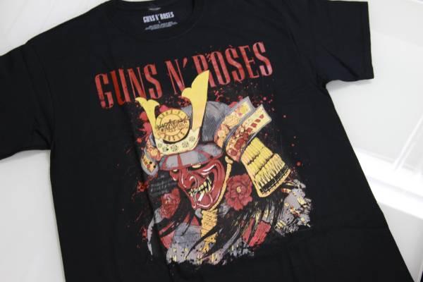 「入手難」 Guns N' Roses ガンズ アンド ローゼズ SAMURAI-KOBE 神戸限定 T-SHIRT・L「即完売」