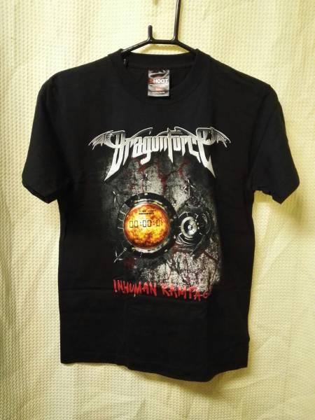 02バンドTシャツ ドラゴンフォースS