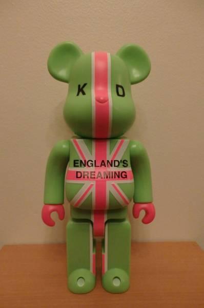 ベアブリック 400% ENGLAND'S DREAMING KD
