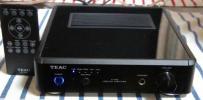 TEAC USB DACステレオプリメインアンプ A-H01 ブラック