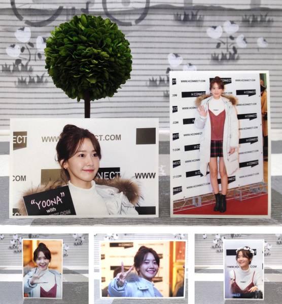 少女時代★ユナ★2016.12月 H:CONNECT 江南 Fansign会★FC生写真30枚