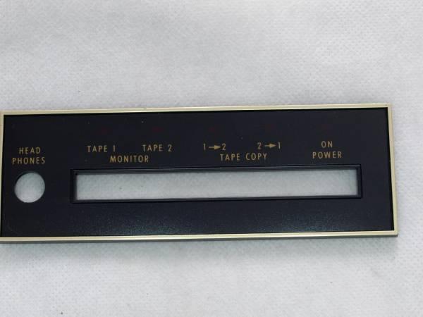 McIntosh マッキントッシュ C27 フロントパネル銘板 1枚 レターパックライト送料込み