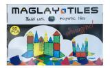 【展示品】マグレイタイル 60ピース ピタゴラス マグフォーマー お探しの方 知育玩具 算数 理科 物理 脳 刺激 する 受験 男の子 女の子