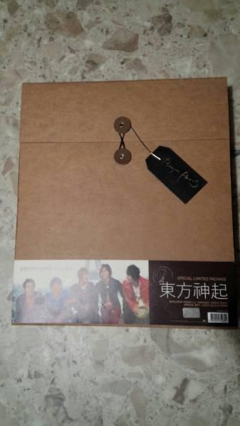 東方神起 写真集 Bonjour Paris Special Limited package BOX 大型本 ライブグッズの画像