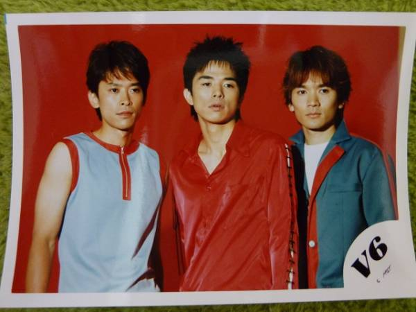 V6 トニセン(坂本昌行・長野博・井ノ原快彦) 公式写真4枚組