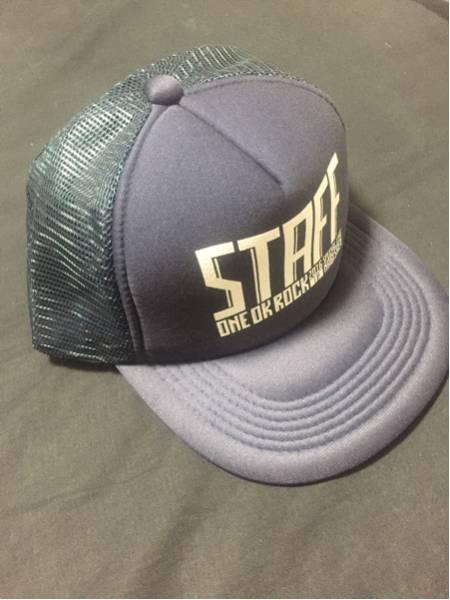 未使用 ONE OK ROCK 渚園 staffキャップ スタッフ ワンオクロック クルー 帽子 グッズ Tシャツも出品中!!