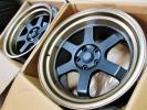 売尽くし②新品ドリフトホイール深リム/スカイラインGTR32R33R34/シルビアS14S15/Z33Z34★チューナーサイズ