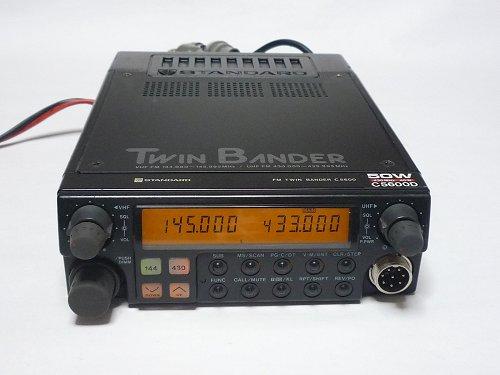 ★最強C5600Dハイパワー300MHz送信可J無し★スタンダード製 業務無線 特定小電力無線 簡易無線 等ワイド送受信 U×U受信可能ジャンク扱