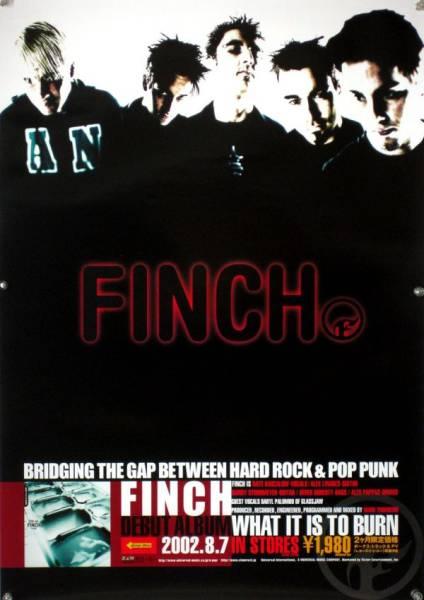 FINCH フィンチ B2ポスター (2G10006)