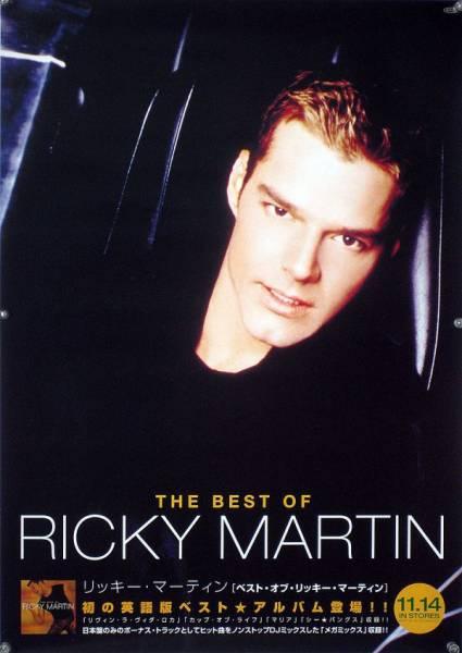 RICKY MARTIN リッキー・マーティン B2ポスター (2G16013)