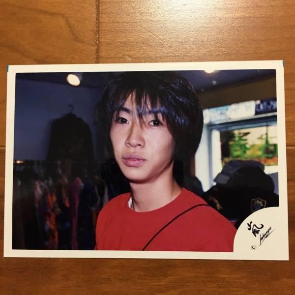 即決¥1000★嵐 公式写真 2298★相葉雅紀 ハワイ 初期 貴重 嵐ロゴ
