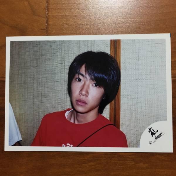 即決¥1000★嵐 公式写真 2301★相葉雅紀 ハワイ 初期 貴重 嵐ロゴ