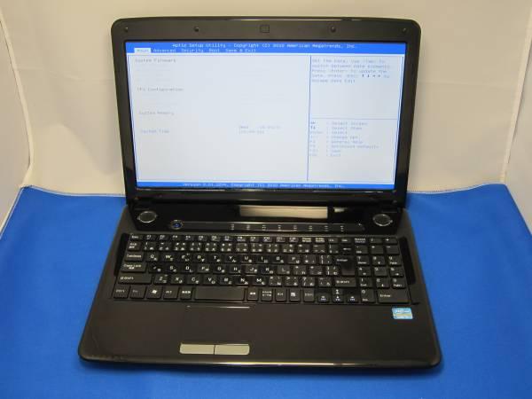 ドスパラ Prim Core i3 2330M 2.2GHz ノートパソコン ◆47