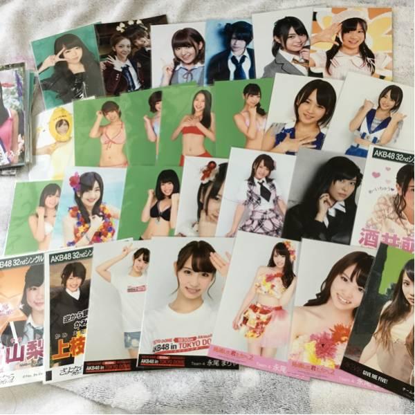 AKB48 50枚以上 前田敦子、Not yet、大島優子、永尾まりや、川栄李奈、大場美奈、チーム8等 生写真