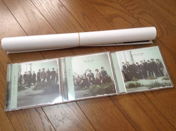 Hey!Say!JUMP★Give Me Love★3形態+ポスターD★CD+DVD コンサートグッズの画像