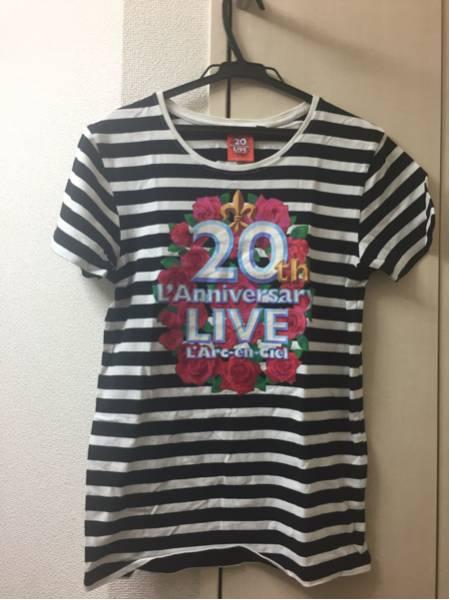 【美品】L'Arc~en~Cielラニバ20周年ライブTシャツ