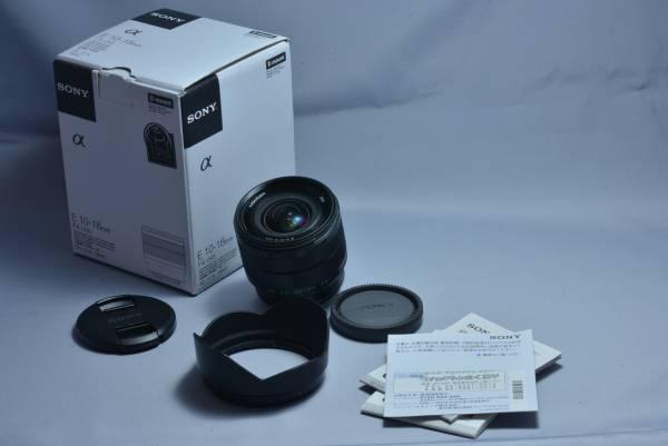 E10-18mm F4 OSS SEL1018 昨年5月購入