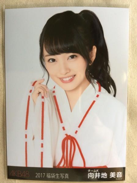 向井地美音 生写真 2017 福袋 封入特典 AKB48 ライブ・総選挙グッズの画像